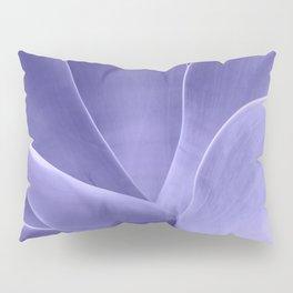 Periwinkle Succulent Pillow Sham