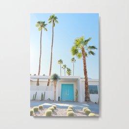 PS, Blue Door 2 Metal Print