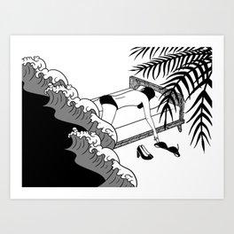Just a Bad Dream, Not a Bad Life Art Print