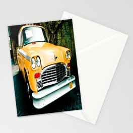 Yellow Cab (2) Stationery Cards