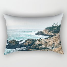 Standing on the Coast Rectangular Pillow