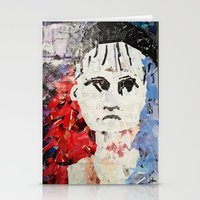 les miserables Stationery Cards featuring LES MISERABLES by JANUARY FROST