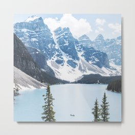 Moraine Lake | Blue | Landscape Photography  Metal Print
