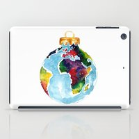 globe iPad Cases featuring Globe Bauble by Bridget Davidson