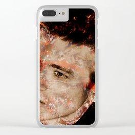 DEAN Clear iPhone Case