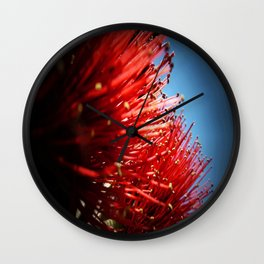 Pohutakawa Wall Clock