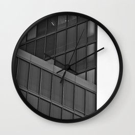 Black and White #01 Wall Clock