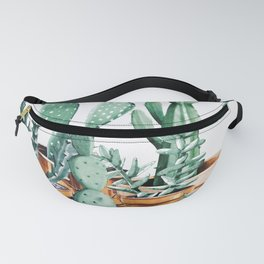 Potted Cacti Fanny Pack