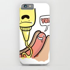 Friends Go Better Together 3/7 - Hot Dog and Mustard Slim Case iPhone 6s