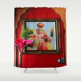 Glorious Galvanized Metal Electrical Boxes Shower Curtain