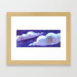 chunk of sky # 4 Framed Art Print