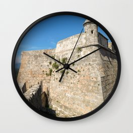 Blue Kingdom Wall Clock