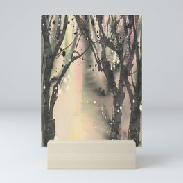 Spotted Forest Watercolor Mini Art Print