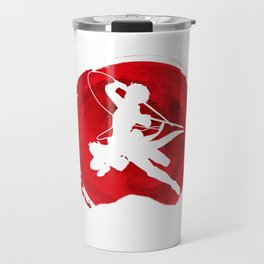 Red Levi akerman Travel Mug