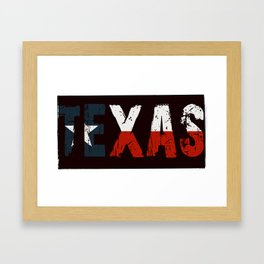 Texas, Too Framed Art Print