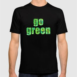 Go Green Ink Abstract T-shirt