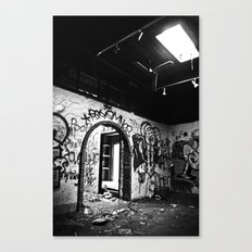 Expressions in Black and White Canvas Print