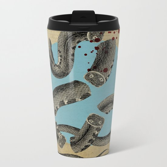 Snake Metal Travel Mug