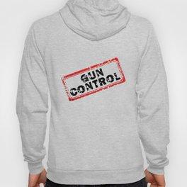 Gun Control Stamp Hoody
