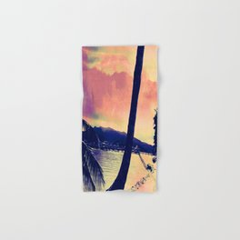 Tempest Island (Warmer Version) Hand & Bath Towel