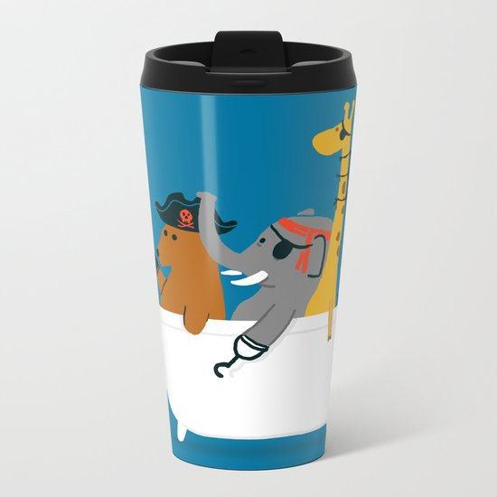 Everybody wants to be the pirate Metal Travel Mug