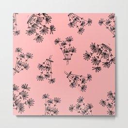 pink flower eaters Metal Print