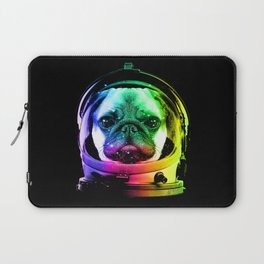 Astronaut Pug Laptop Sleeve