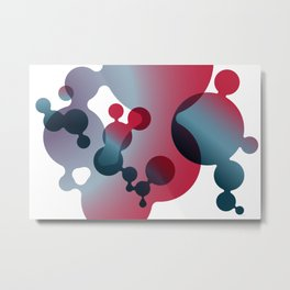 Lava-Dots  Metal Print