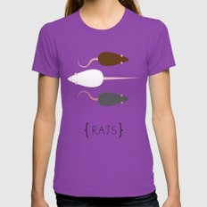 Rats! Ultraviolet Womens Fitted Tee LARGE