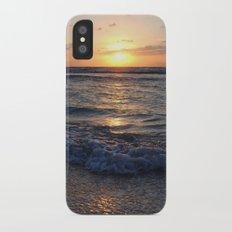 sunrise over the ocean Slim Case iPhone X