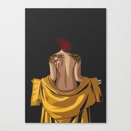 Lady Yakuza Canvas Print