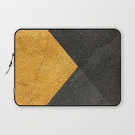Yellow and Grey - Triangle Laptop Sleeve