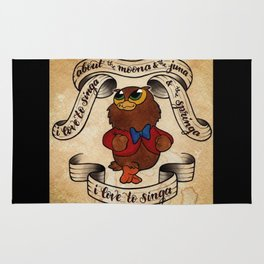 I Love to Singa Rug