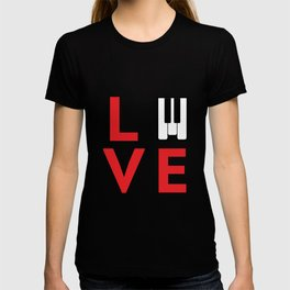 Love music #society6 #music #buyart #artprint T-shirt