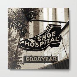 Shoe Hospital Metal Print