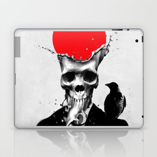 SPLASH SKULL Laptop & iPad Skin