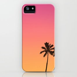 Hot Summer Mood iPhone Case