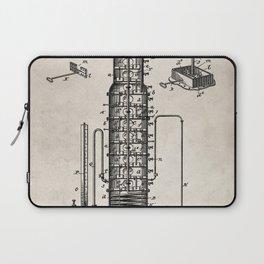 Whisky Patent - Whisky Still Art - Antique Laptop Sleeve