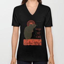 Le Rat Noir Unisex V-Neck