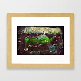 The Gardens (Web)  Framed Art Print
