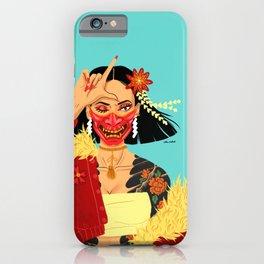 Hannya iPhone Case