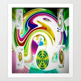 Abstract Perfection 25 Art Print