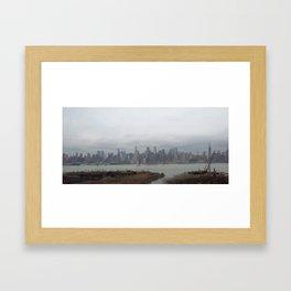 Skyline, NYC Framed Art Print