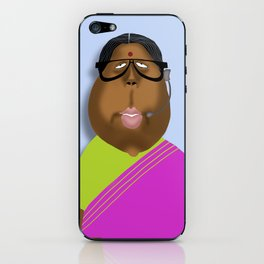 Mrs Curry iPhone Skin