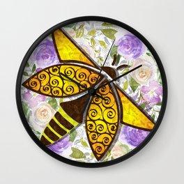 Flights of Fancy - LightningBug Wall Clock