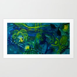Blue Period Art Print
