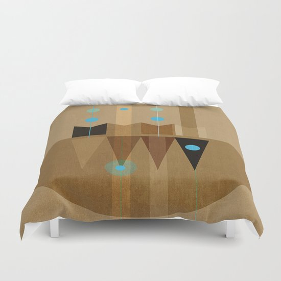 Geometric/Abstract 10 Duvet Cover