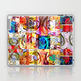 Geometric Botanicals 6 section 4 Laptop & iPad Skin