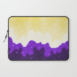 Nonbinary Pride Flag Galaxy Laptop Sleeve