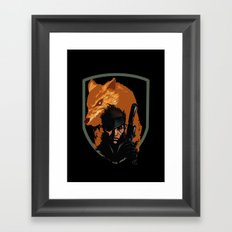 METAL GEAR: The Snake and the Fox Framed Art Print